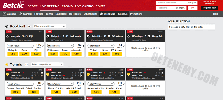 Betclick one of the most trustworthy Bookmakers