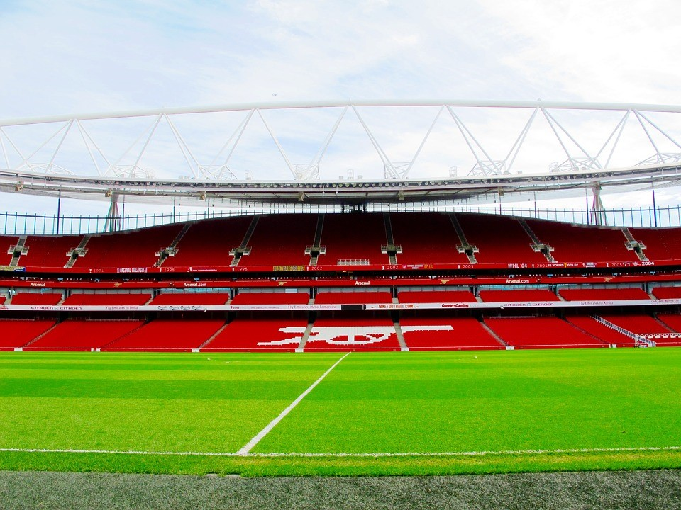 Arsenal's home turf.